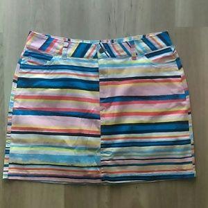 Pants - Colorful skort size 14W